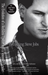 BECOMING STEVE JOBS - BOOKS FIRST ~ Mad About Books
