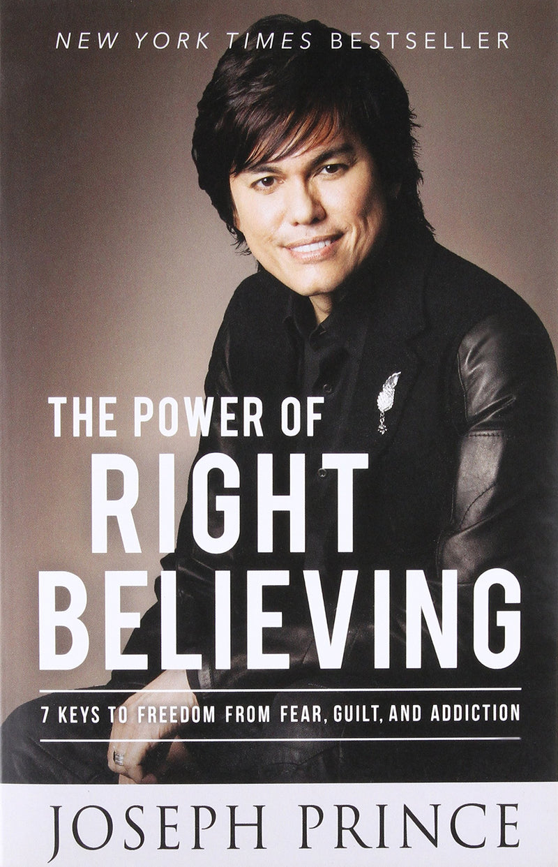 THE POWER OF RIGHT BELIEVING - BOOKS FIRST ~ Mad About Books