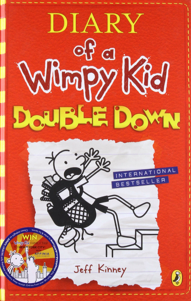 Diary of a Wimpy Kid: Double Down (BK 11) - BOOKS FIRST ~ Mad About Books