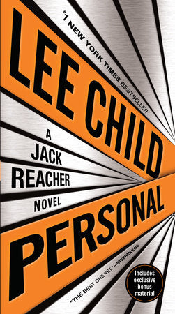 PERSONAL:JACK REACHER. - BOOKS FIRST ~ Mad About Books
