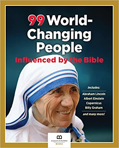 99 World-Changing People Influenced By the Bible - BOOKS FIRST ~ Mad About Books