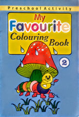 My Favourite Colouring Book- 2 - BOOKS FIRST ~ Mad About Books
