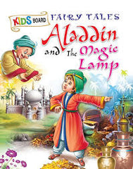 Sawan - Kids Board Fairy Tales - Aladdin & Magic Lamp