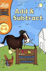 Add and Subtract Age 5-6 (Letts Fun Farmyard Learning) (Paperback) - BOOKS FIRST ~ Mad About Books