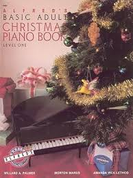 Alfred'S Basic Adult Piano Course Christmas Book 1