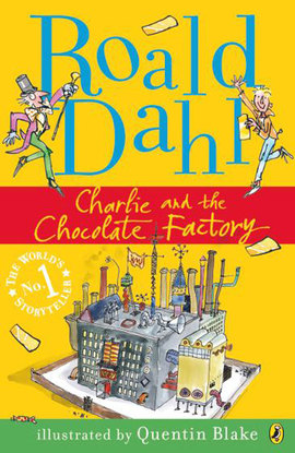 Roald Dahl: Charlie and the Chocolate Factory - BOOKS FIRST ~ Mad About Books