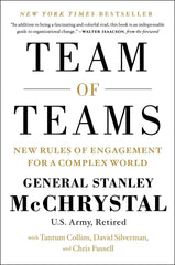 Team of Teams: New Rules of Engagement for a Complex World - BOOKS FIRST ~ Mad About Books