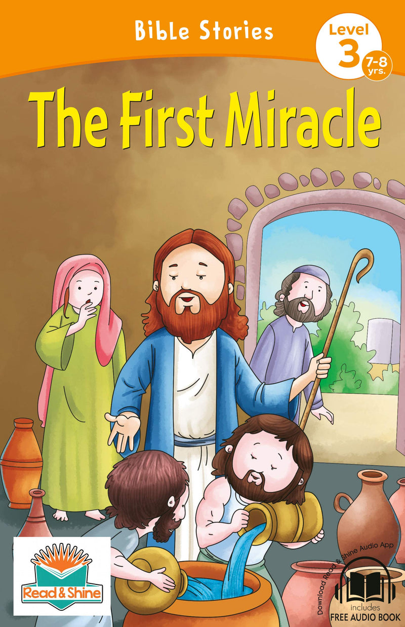 The First Miracle - BOOKS FIRST ~ Mad About Books