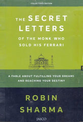 The Secret Letters Of The Monk Who Sold His Ferrari - BOOKS FIRST ~ Mad About Books