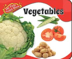 ALKA MY FIRST BOARD BOOK VEGETABLES
