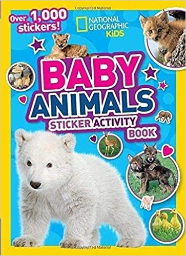 National Geographic Kids Baby Animals Sticker Activity Book - BOOKS FIRST ~ Mad About Books