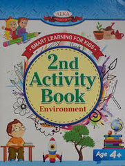 Smart Learning For Kids: 2nd Activity book environment