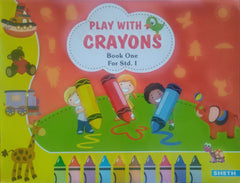 Play With Crayons Book 1 - BOOKS FIRST ~ Mad About Books