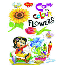 Copy To Colour Flowers