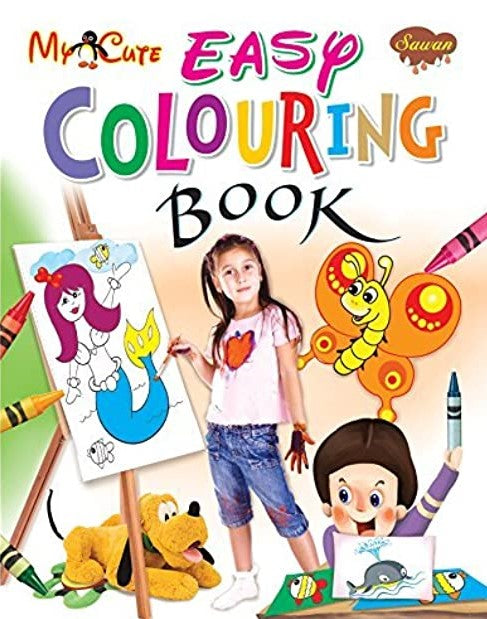 My Cute Easy Colouring Book