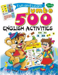 Jumbo 500 English Activities Book