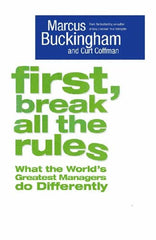 First, Break All The Rules - BOOKS FIRST