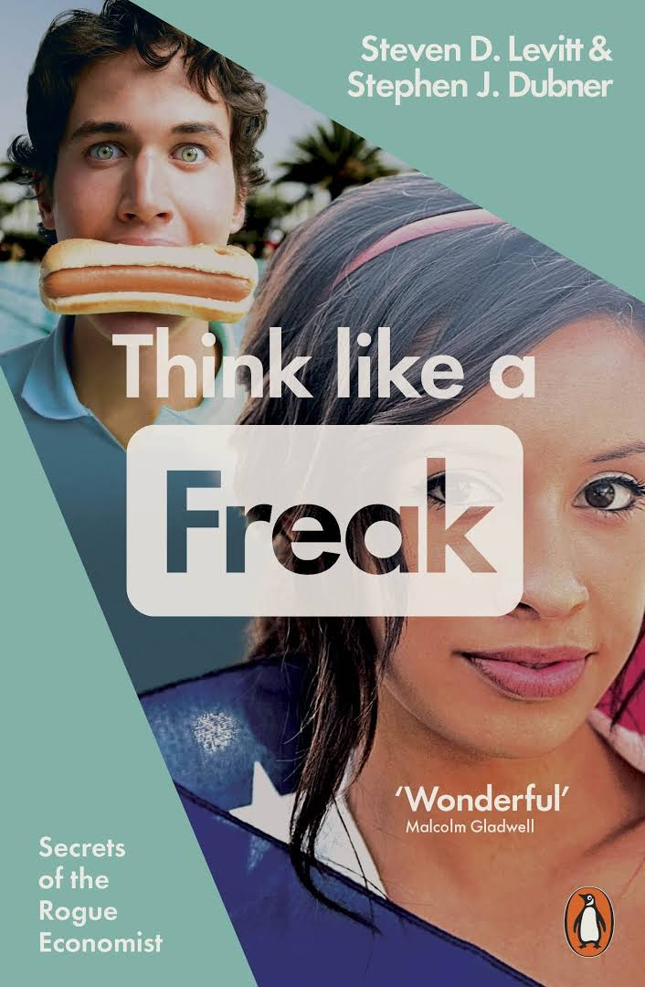 THINK LIKE A FREAK - BOOKS FIRST ~ Mad About Books