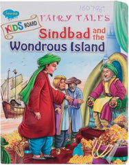 Kids Board Fairy Tales sindbad and the Wondrous Island