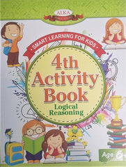 My Smart Learning - 4th Activity Book - Logical Reasoning: 6+k