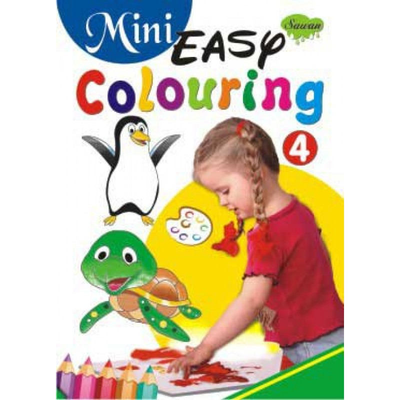Mini Easy Colouring 4