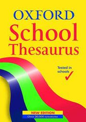 Oxford School Thesaurus - BOOKS FIRST ~ Mad About Books