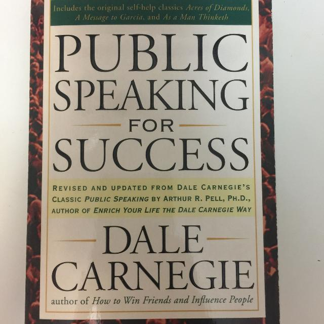 Public Speaking for Success (Hardcover) - BOOKS FIRST ~ Mad About Books