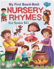 My First Board Book nursery Rhymes for Senior KG