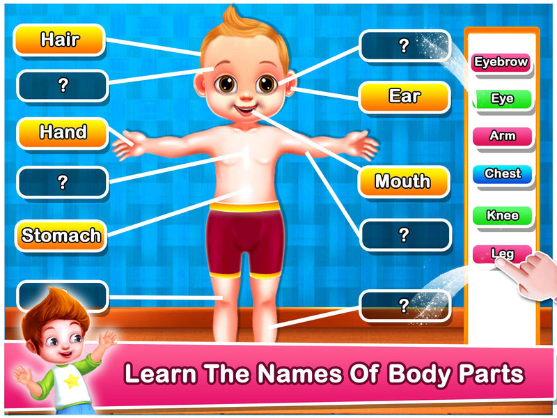 Play & Learn Body Parts - BOOKS FIRST