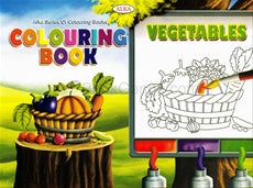 Colouring Book (Vegetables)