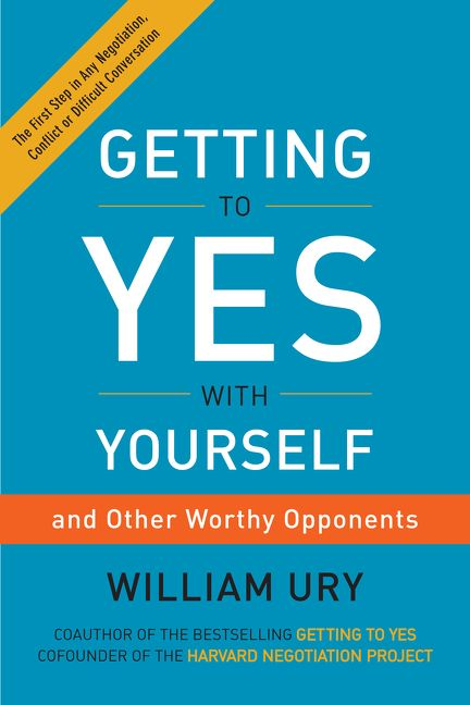 GETTING TO YES WITH YOURSELF - BOOKS FIRST ~ Mad About Books
