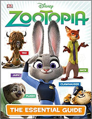 Disney Zootopia: The Essential Guide Hardcover - BOOKS FIRST ~ Mad About Books