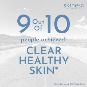 Skinesa ingredients 92% success rate in the clinical trial