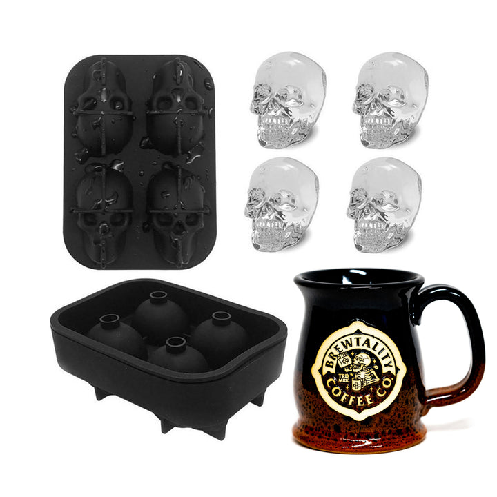 Skelly Ice Cube Mold