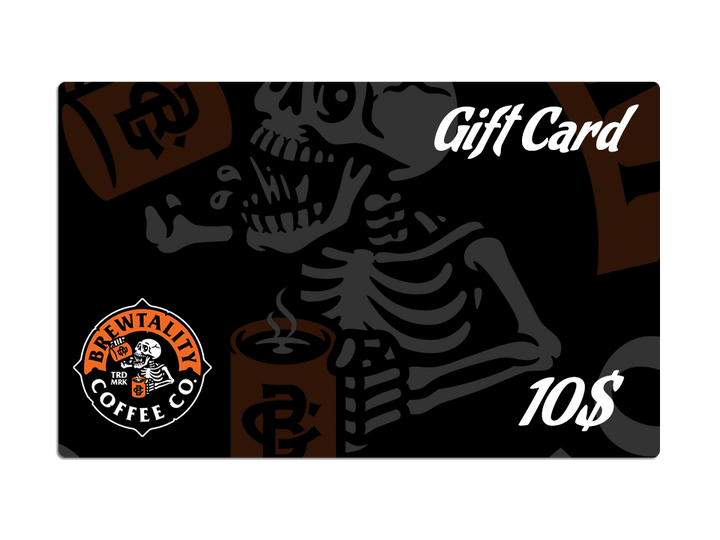 Brewtality Coffee Gift Card