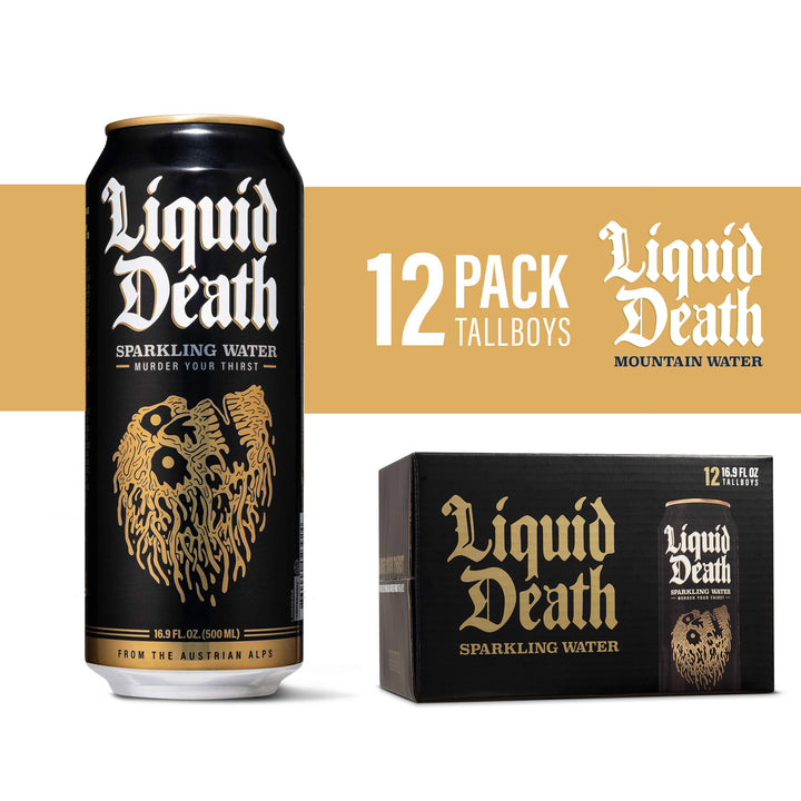 Liquid Death Sparkling Mountain Water