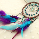 Handmade Indian Dream Catcher Net with Feathers