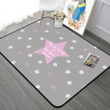 Nordic Geometric Kids Room Antiskid Rug