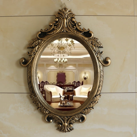 European Wall Hanging  Retro Decorative Mirror