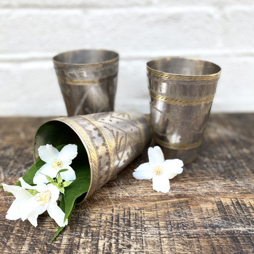 Vintage Lassi Cups - Small