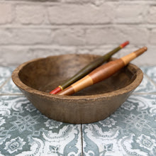 Load image into Gallery viewer, Monty Antique Wooden Fruit Bowl