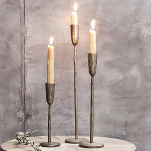 Mabata Brass Candlestick - Medium