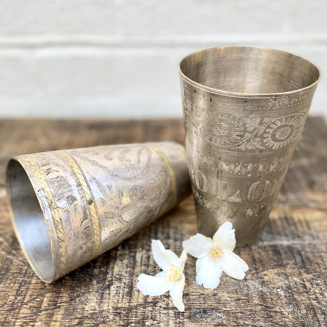 Vintage Lassi Cups - Medium
