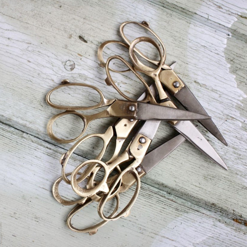 Sandi Brass Scissors