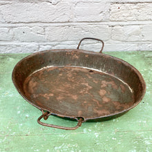 Load image into Gallery viewer, Vintage Oval Serving Tray