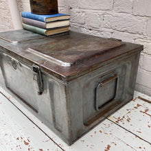 Load image into Gallery viewer, Thomas Vintage Military Trunk