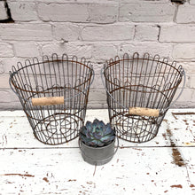 Load image into Gallery viewer, Vintage Factory Baskets