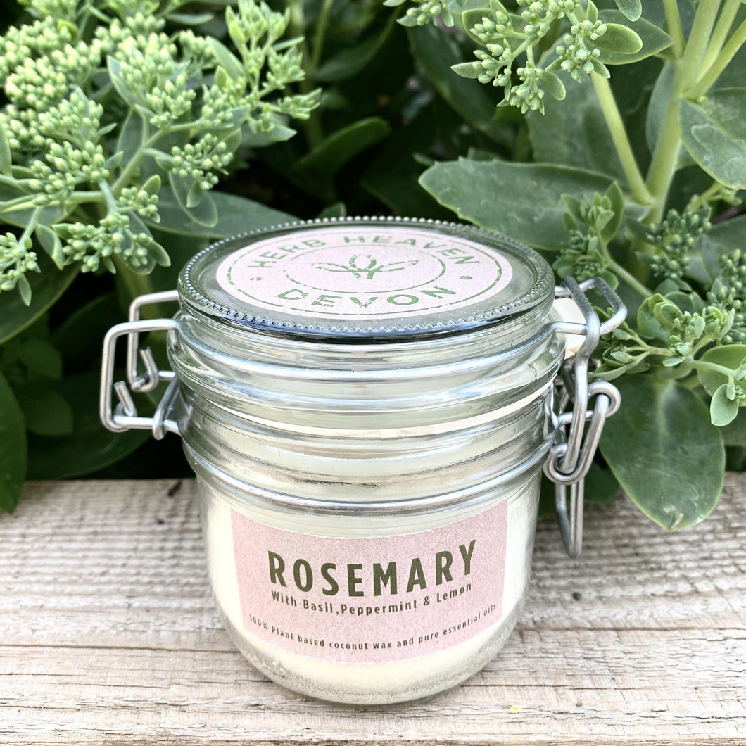 Herbal Candle - Rosemary & Basil 200ml
