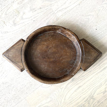 Load image into Gallery viewer, Aerial Antique Wooden Bowl