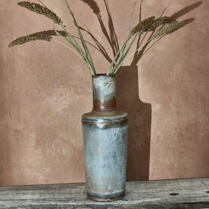 Benni Zinc Bottle Vase - Small